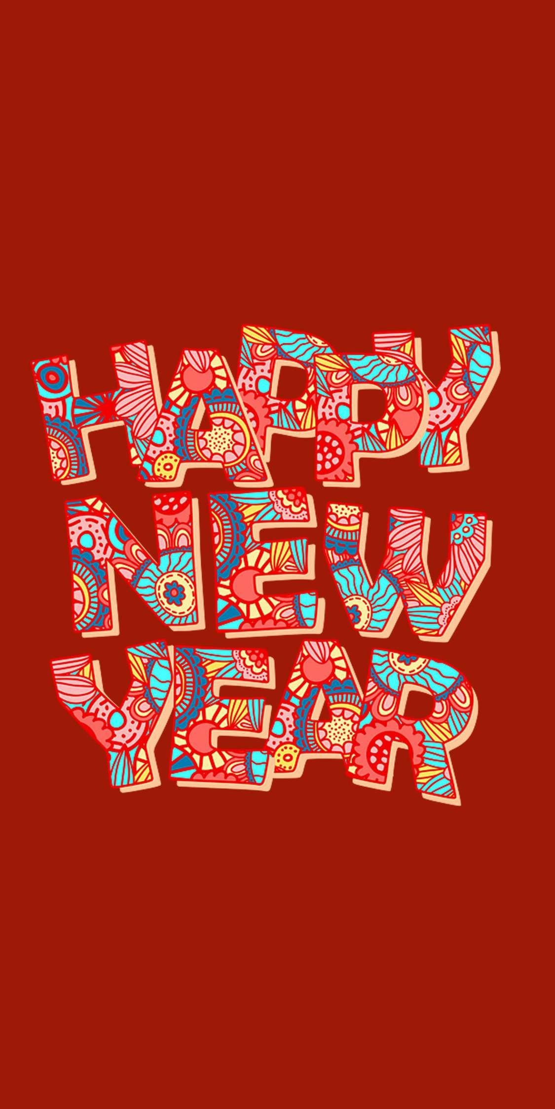 Happy New Year Christmas Iphone Wallpaper Happy New Year Wallpaper New Year Wallpaper Happy New Year Sms