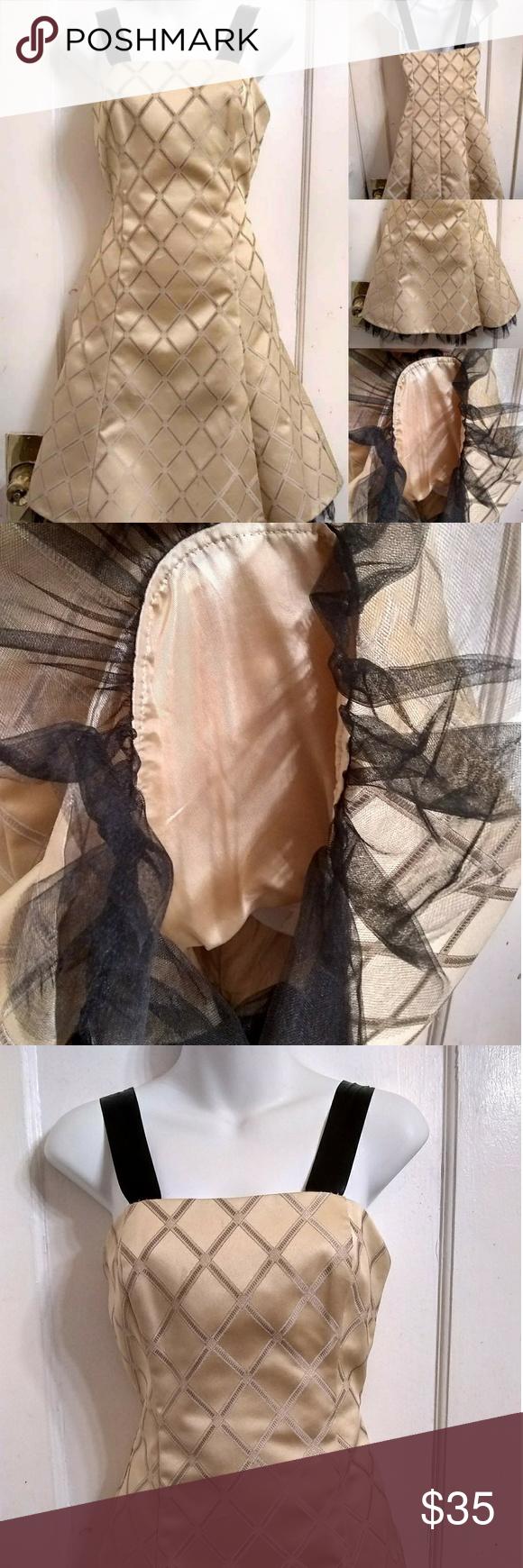 Vtg jessica mcclintock brocade prom dress sz my posh closet