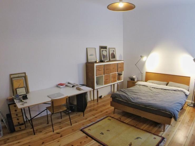 sch nes wg zimmer mit m bel im retro look einrichtung interior wgzimmer wgliebe wgleben. Black Bedroom Furniture Sets. Home Design Ideas
