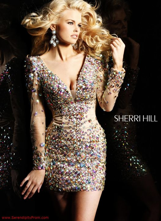 32be7087c90 Pin by Serendipity Prom on Sherri Hill Cocktail Dresses