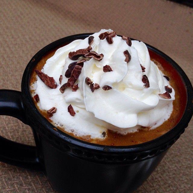 Pumpkin Spice Latte. Dairy Free, Lactose Free, Skinny