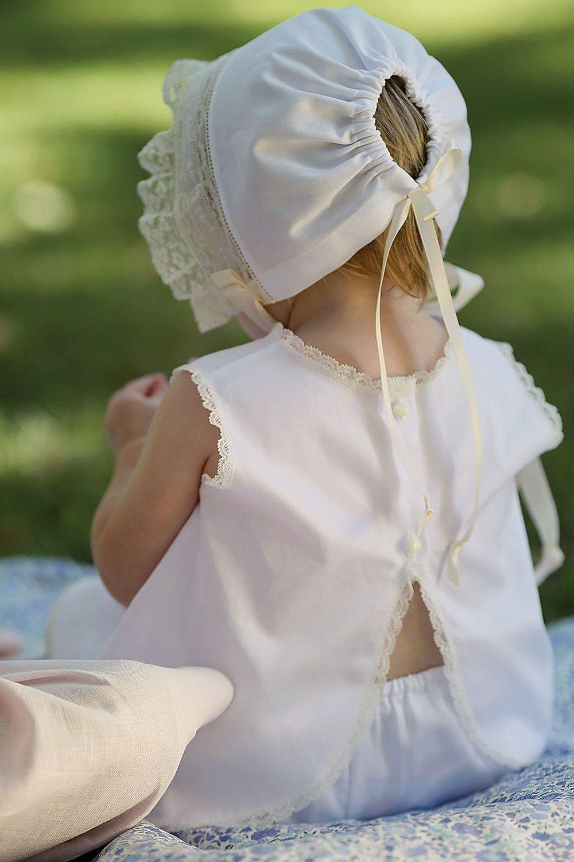 The Lyla Heirloom Bonnet