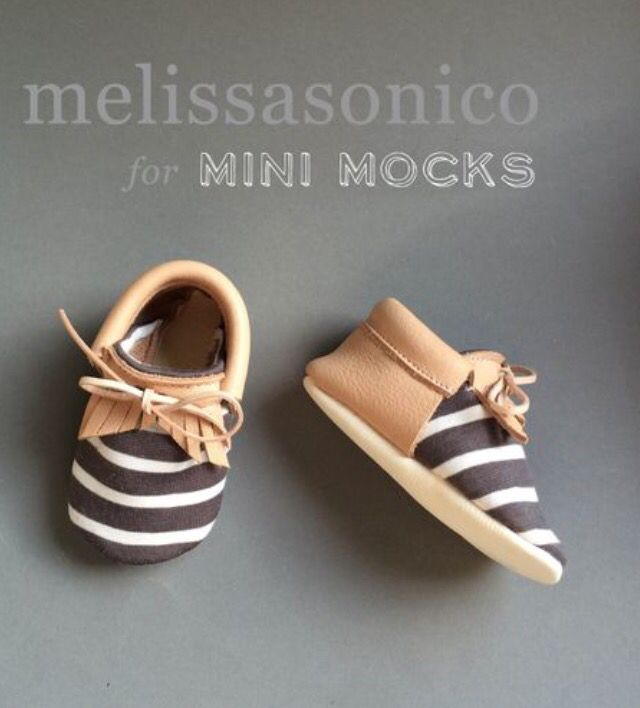 In love with these stripe mini mocks