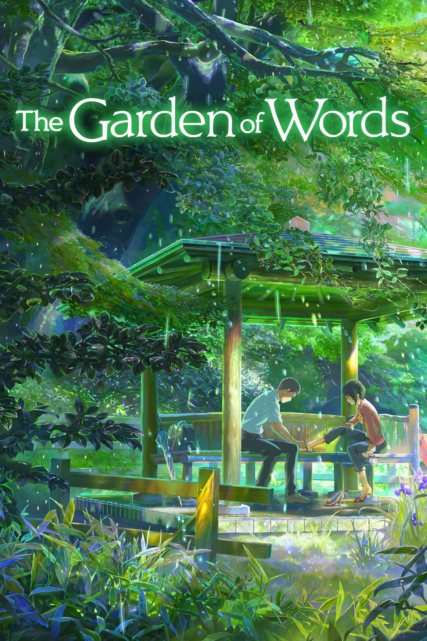 Garden of Words animation anime romance Watch It
