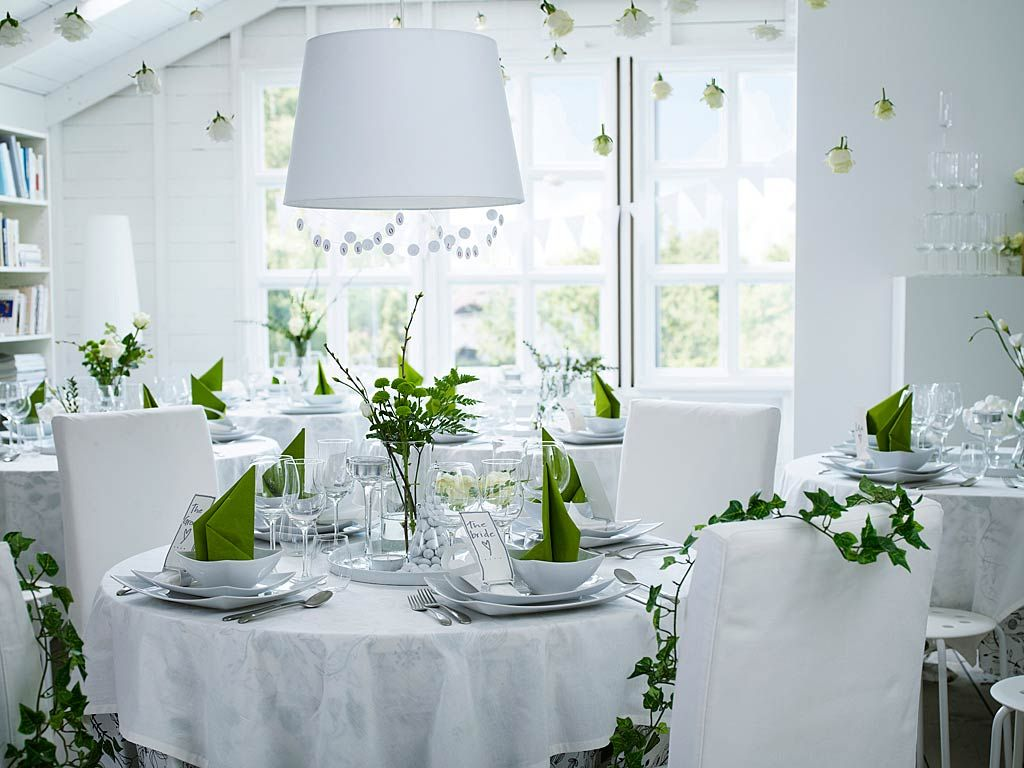 in white and green | my dream wedding | Pinterest | Artificial ...