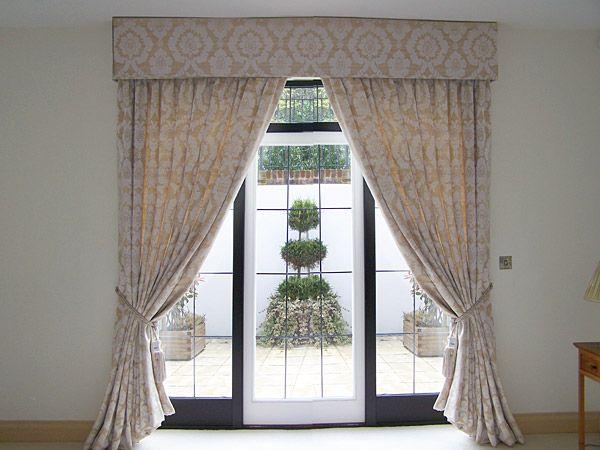 Pinch Pleat Voile Curtains Eyelet Full Length Pelmet Handmade Roman