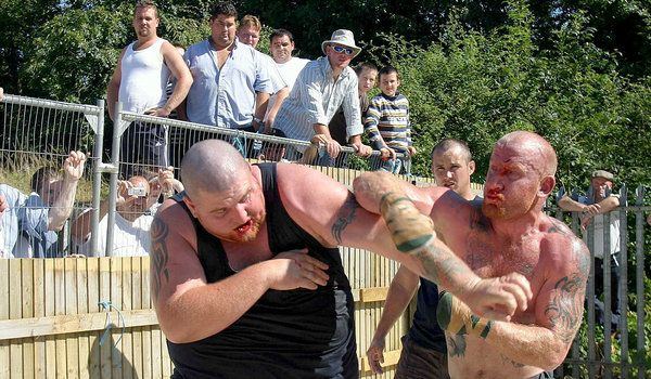 Norms: Irish travelers often solve conflict with their fists rather than using weapons such as guns.  Bare knuckle boxing is a popular sport amongst this group.