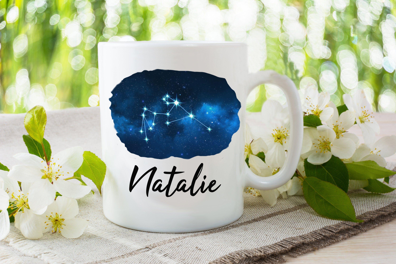 Aquarius Mug Aquarius Cup Aquarius Constellation Coffee Etsy Mugs Libra Gifts Leo Gift