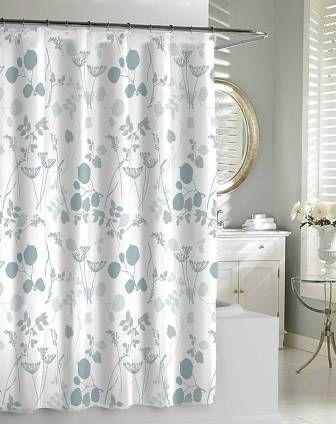 Giardino Spa Blue Shower Curtain By Kassatex Bathing Beauties