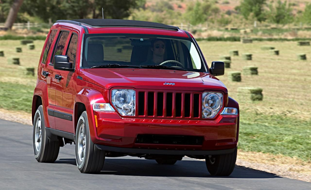 Red Color 2010 Jeep Liberty Sport Car Wallpaper Car Wallpaper Sports Car Wallpaper Jeep Liberty Jeep Liberty Sport