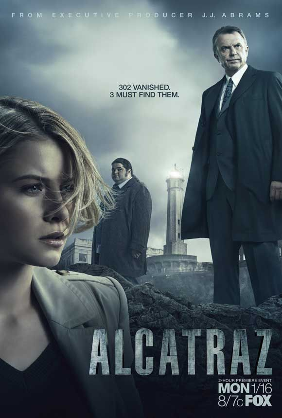 Trust JJ Abrams to bring us another great mystery TV series. If you haven't seen it yet, Alcatraz features over 300 prisoners from 'The Rock' somehow alive and committing crimes in 2012. Nice artwork on the posters too.  Alcatraz posters at MovieGoods.com