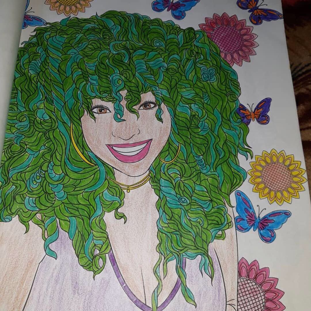 Curls In Color Natural Hair Styles Natural Hair Color Color