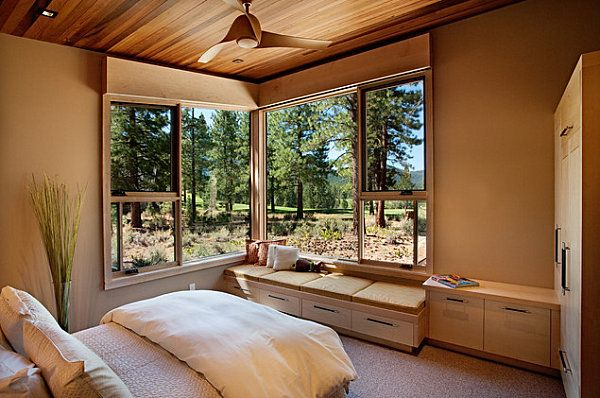 20 Unforgettable Rooms With A View Rustic Bedroom Design Rustic Bedroom Small Bedroom Designs