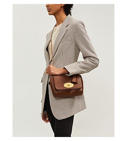 MULBERRY Lily grained leather shoulder bag #mulberrybag