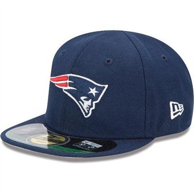 New Era New England Patriots Infant Toddler My 1st On-Field 59FIFTY  Football Structured Fitted Hat 6ed90046f4ea
