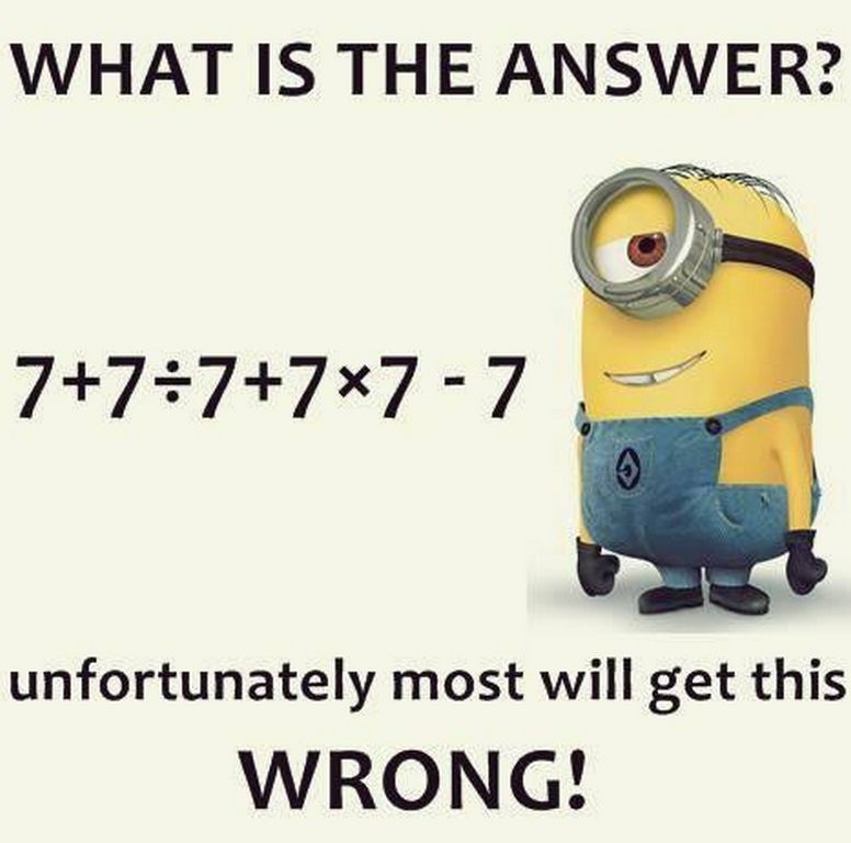 Math Quotes Funny Minion: Today Top Funny Minions (03:05:58 AM, Tuesday 22, November