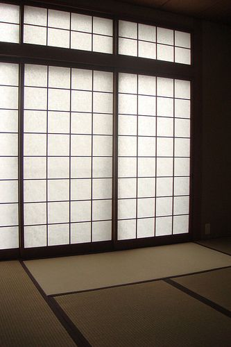 Shōji Sliding Paper Door Japanese Architecture Tatami Room