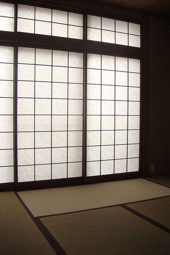sh ji sliding paper door japon arquitectura japonesa. Black Bedroom Furniture Sets. Home Design Ideas