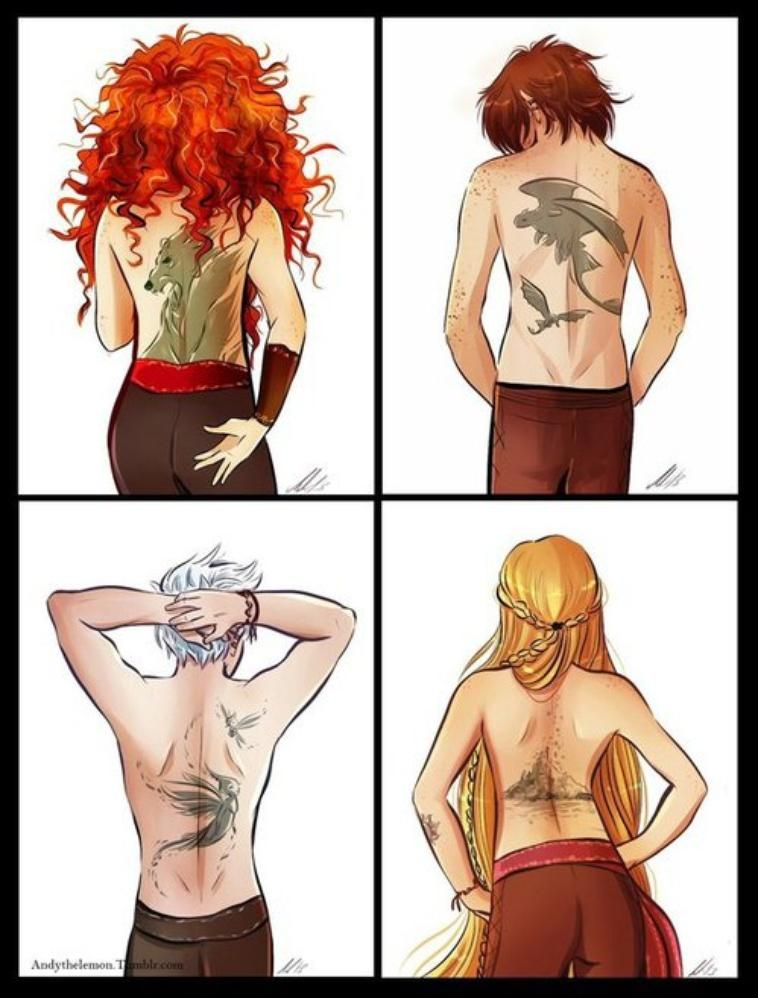 Yesss some kick-ass tattoos