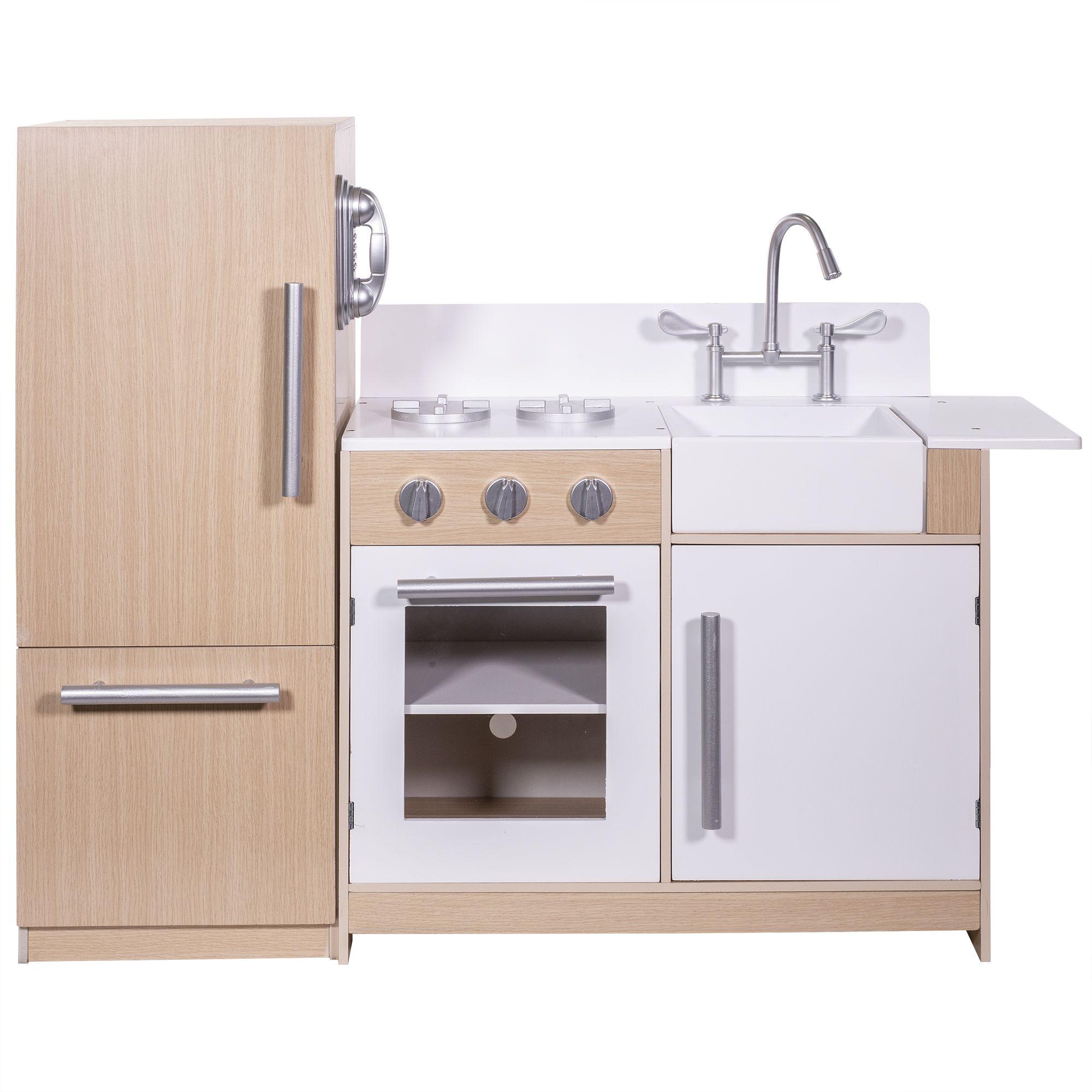 Ihubdeal Deluxe Kitchen Kids Toy Set Sink Stovetop Refrigerator Fridge Cabinet Freezer Cordless Phone Playset Walmart Com Kids Kitchen Play Kitchen Kids Pretend Play Kitchen