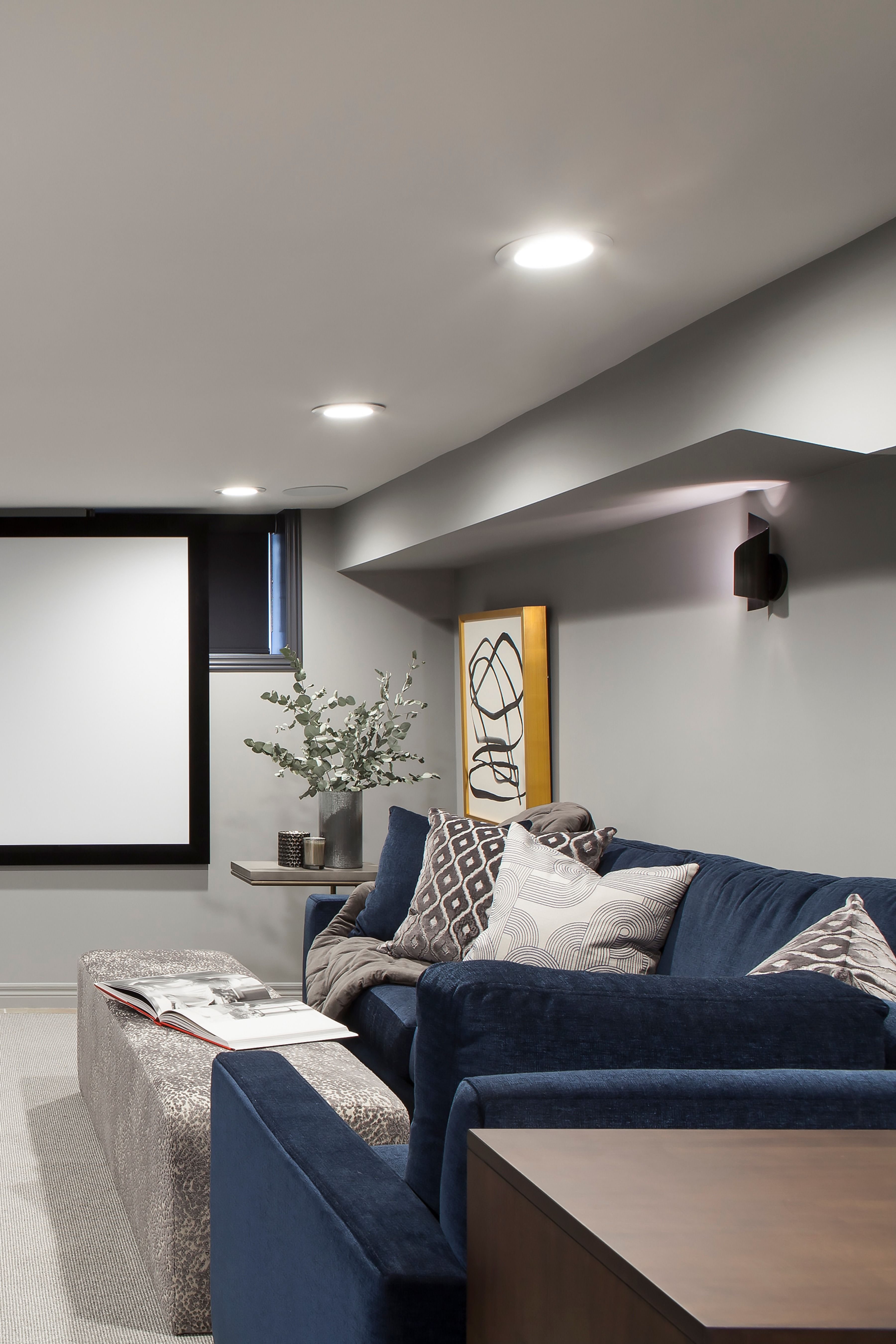 How to transform a storage basement into an entertainment