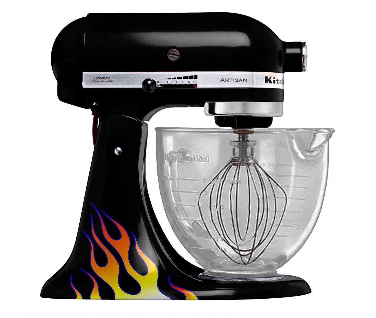 Decals Kitchen Aid Mixer Mixer Decal Fire Kitchen Aid