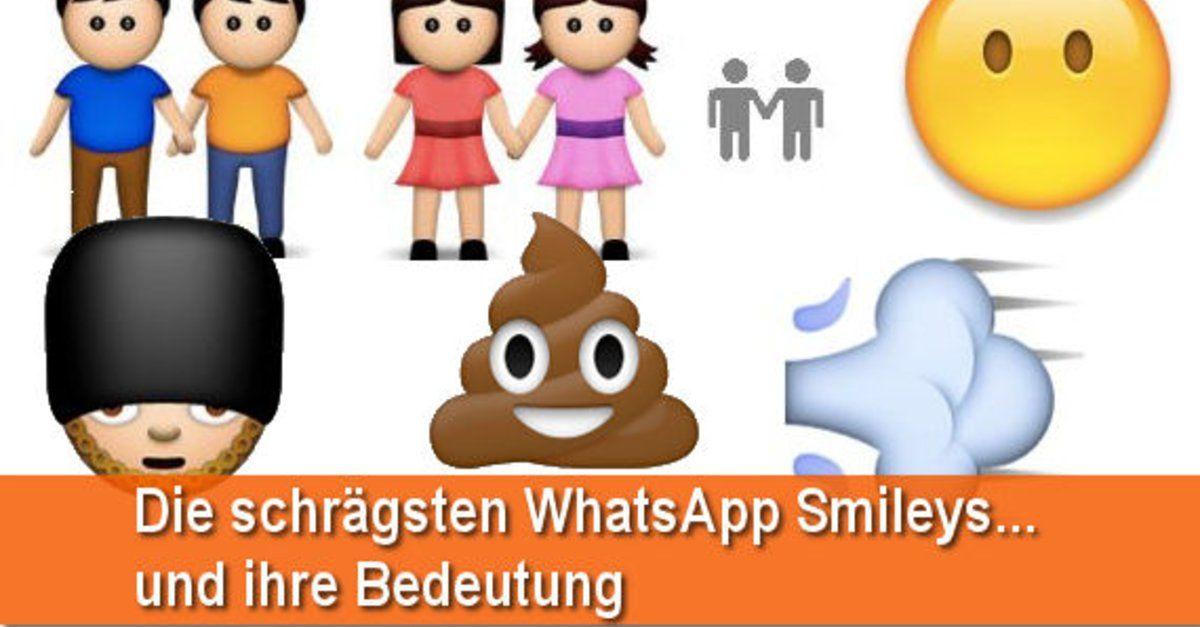 Smiley bedeutung whatsapp kuss Kuss Smiley.