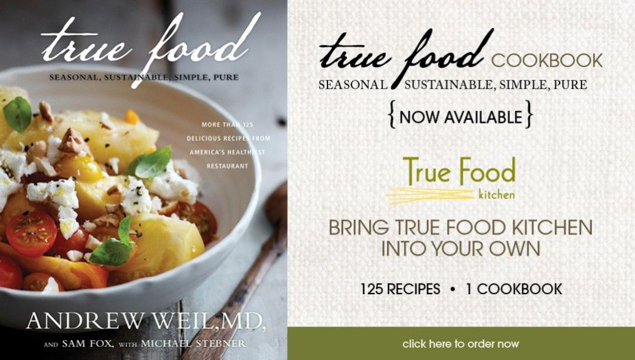 Have been wanting to get our hands on these fabulous recipes now true food kitchen has a cookbook ordering now forumfinder Images