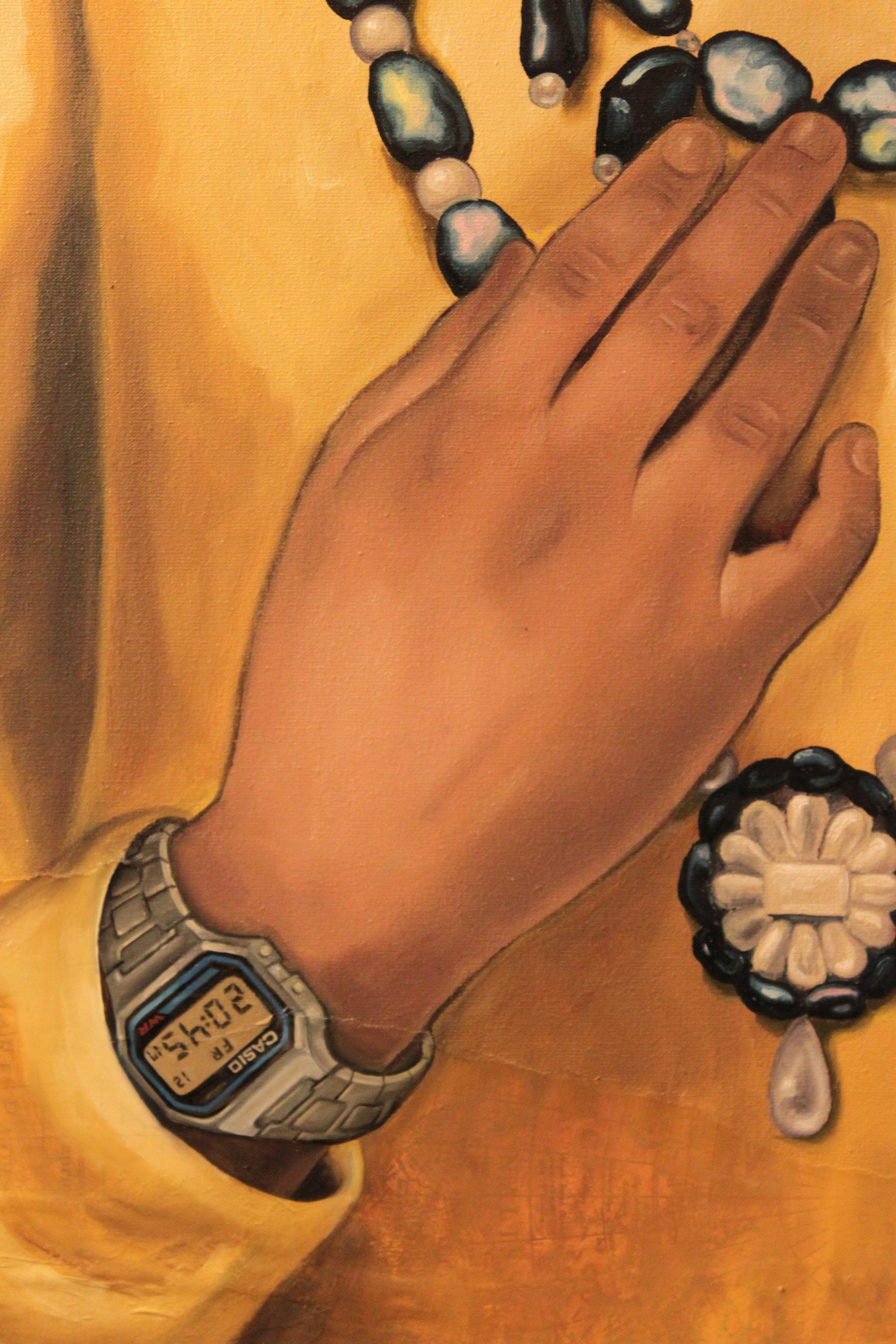 Maharaja on time, detail