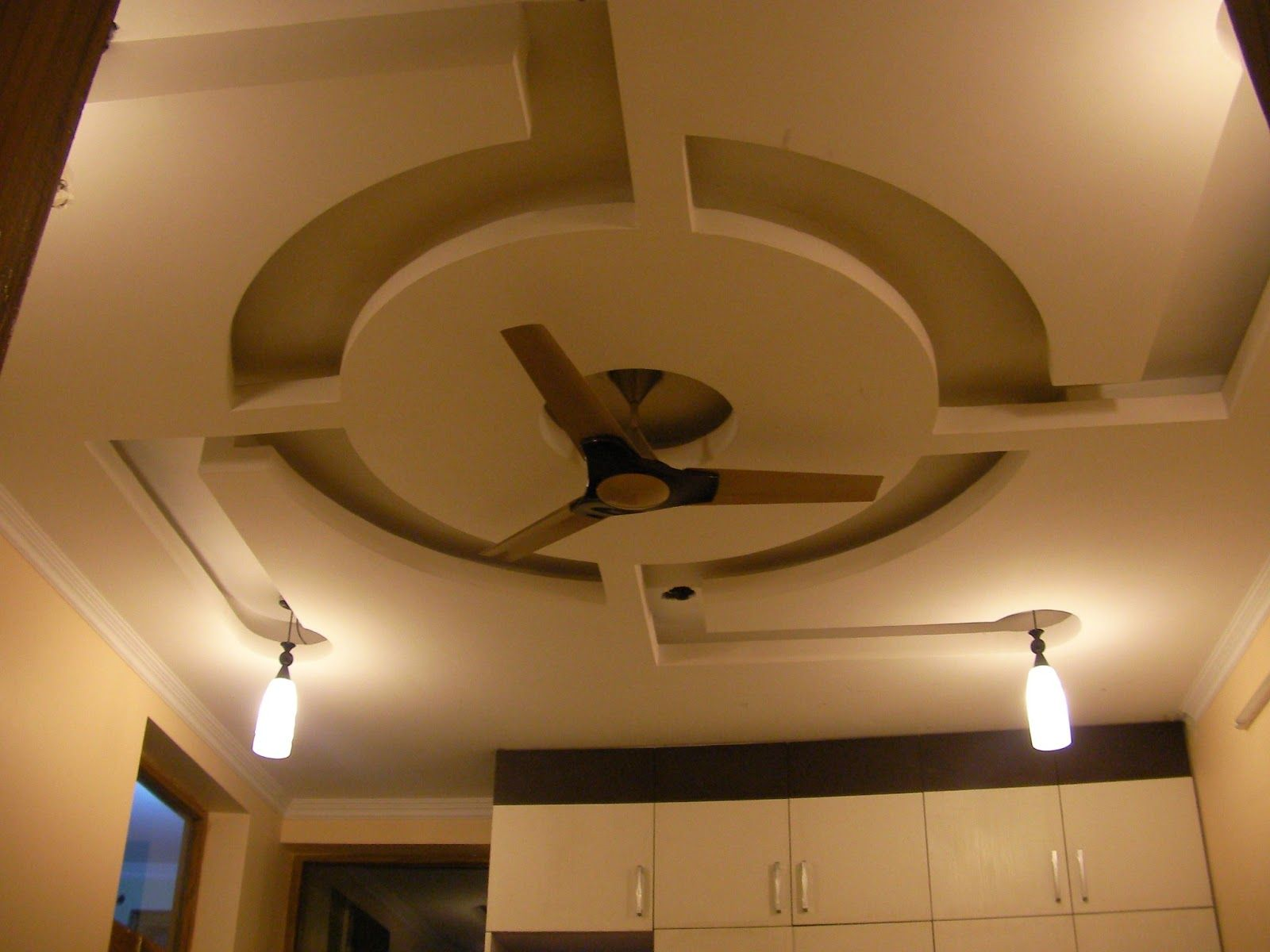 False Ceiling Designs For Living Room With Two Fans House Decor - Living room false ceiling designs pictures