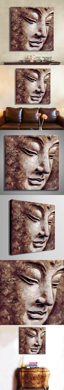 Oil Paintings Canvas Buddha Wall Art Decoration Artwork Home Decor