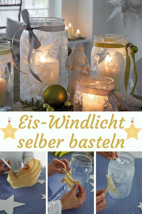 Photo of Ice Lantern | selbst.de This ice lantern fills the room with a fr …