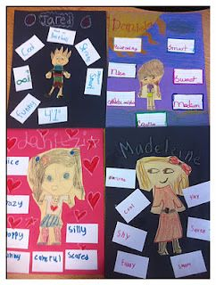 Adjective activity - and great for building self-esteem