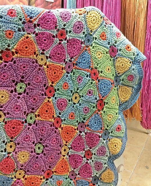 Kaleidoscope Afghan/Blanket pattern by Amanda Perkins ...