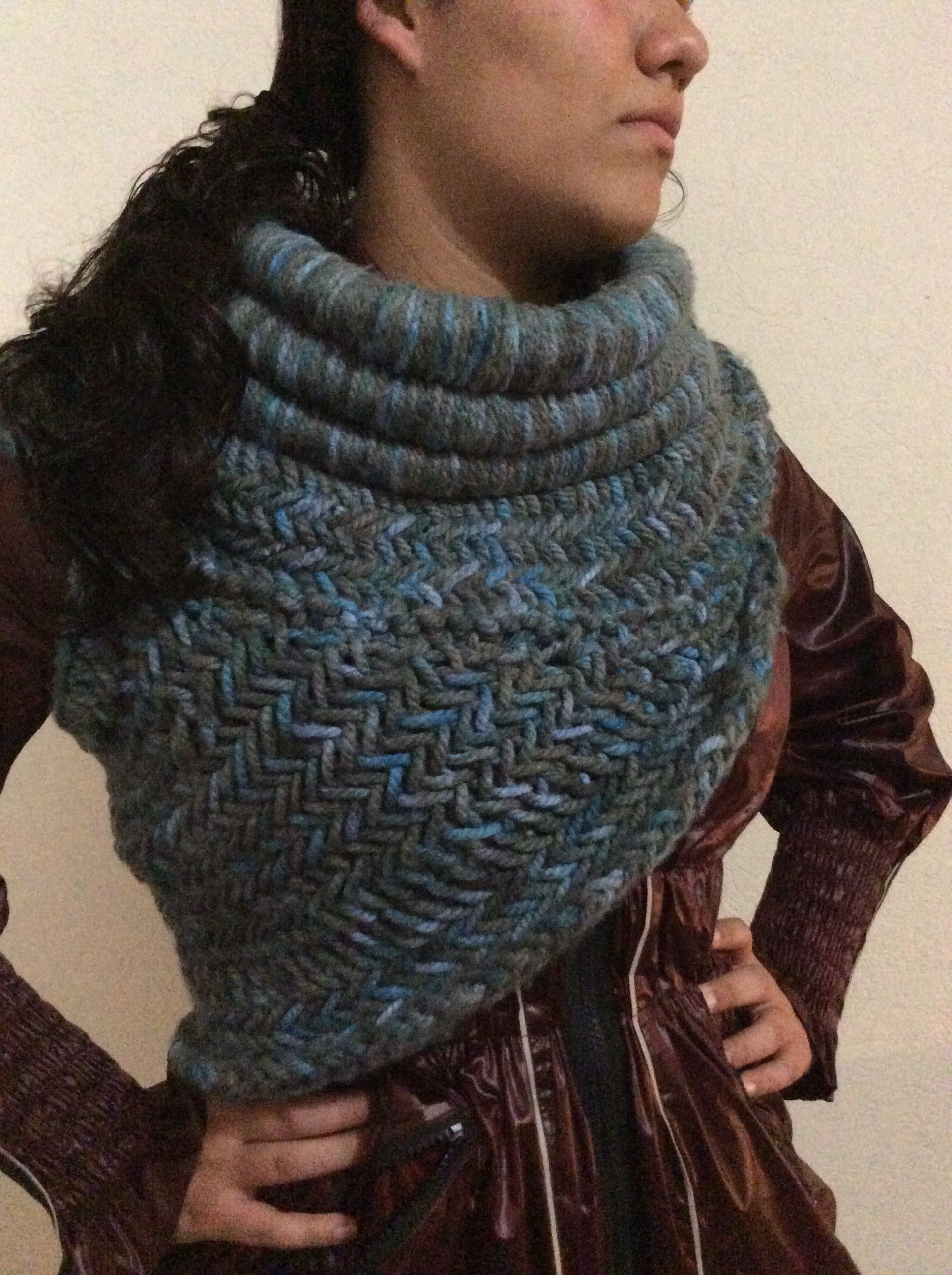 Katniss cowl #2 Made to order $120 heha71@gmail.com   Knit ...
