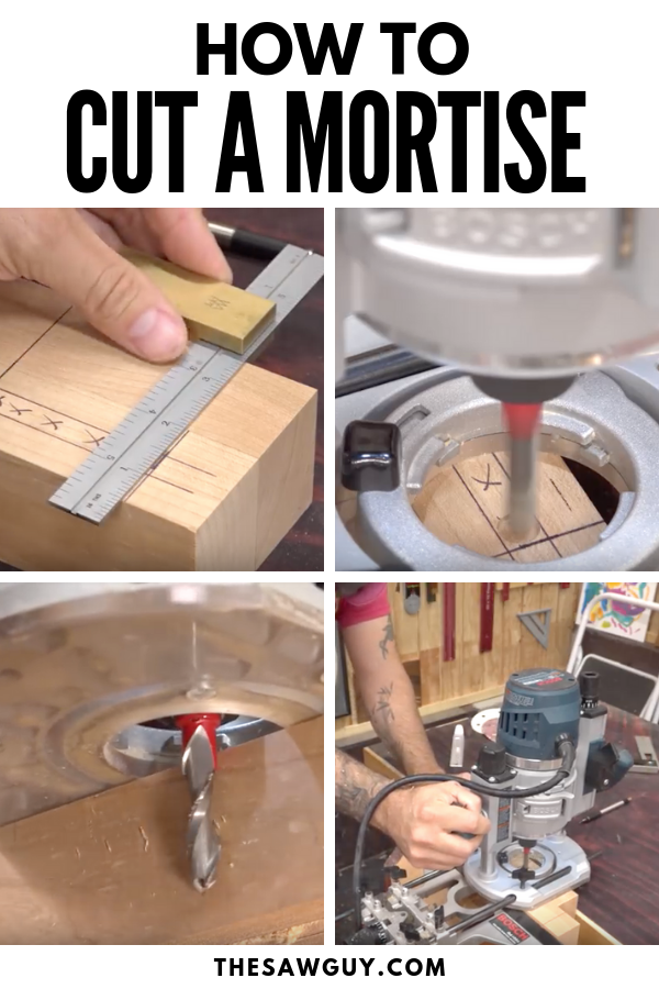 How To Cut A Mortise The Saw Guy From The Blog