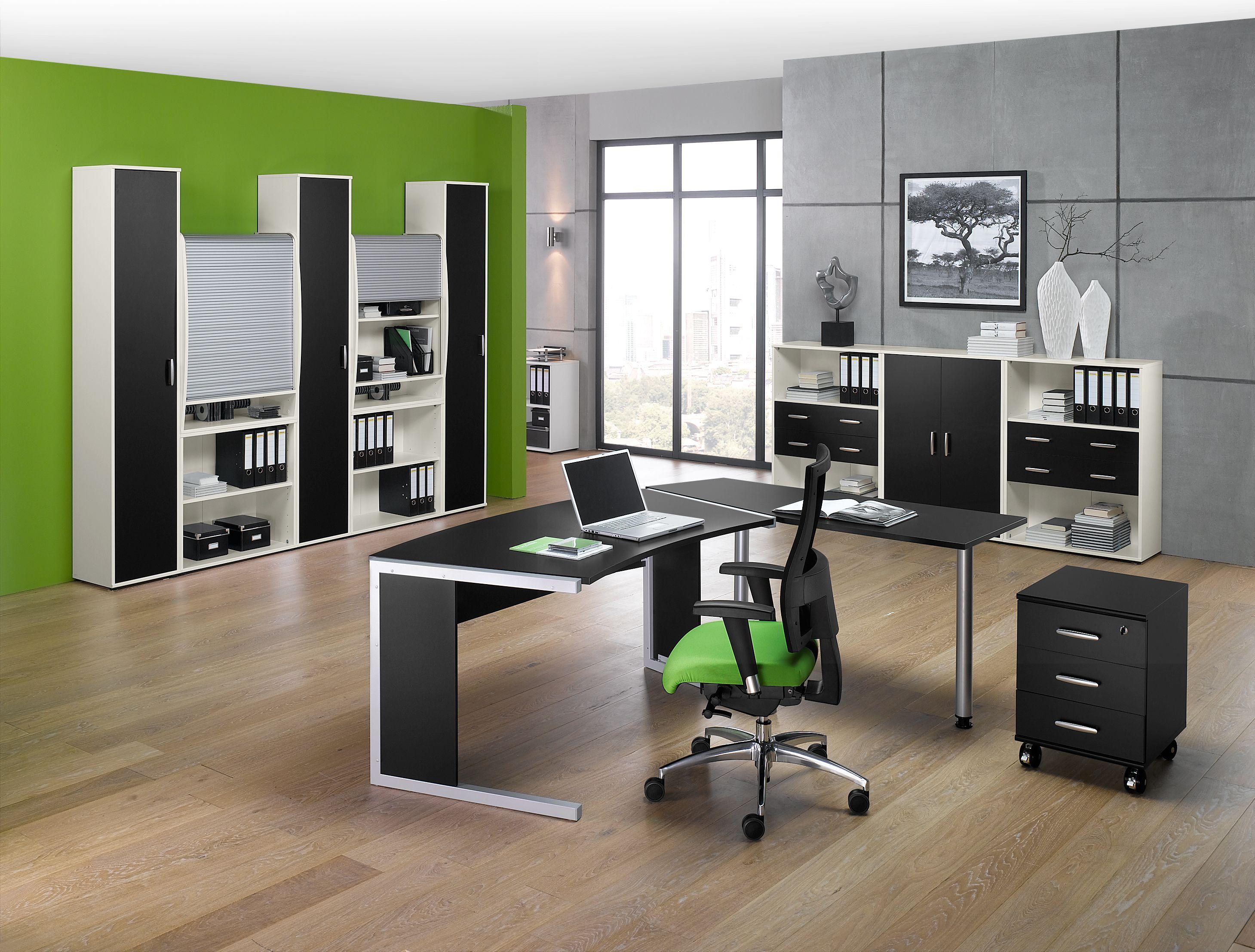 Büromöbel PREDO schwarz von Schäfer Shop | Büromöbel PREDO von ...