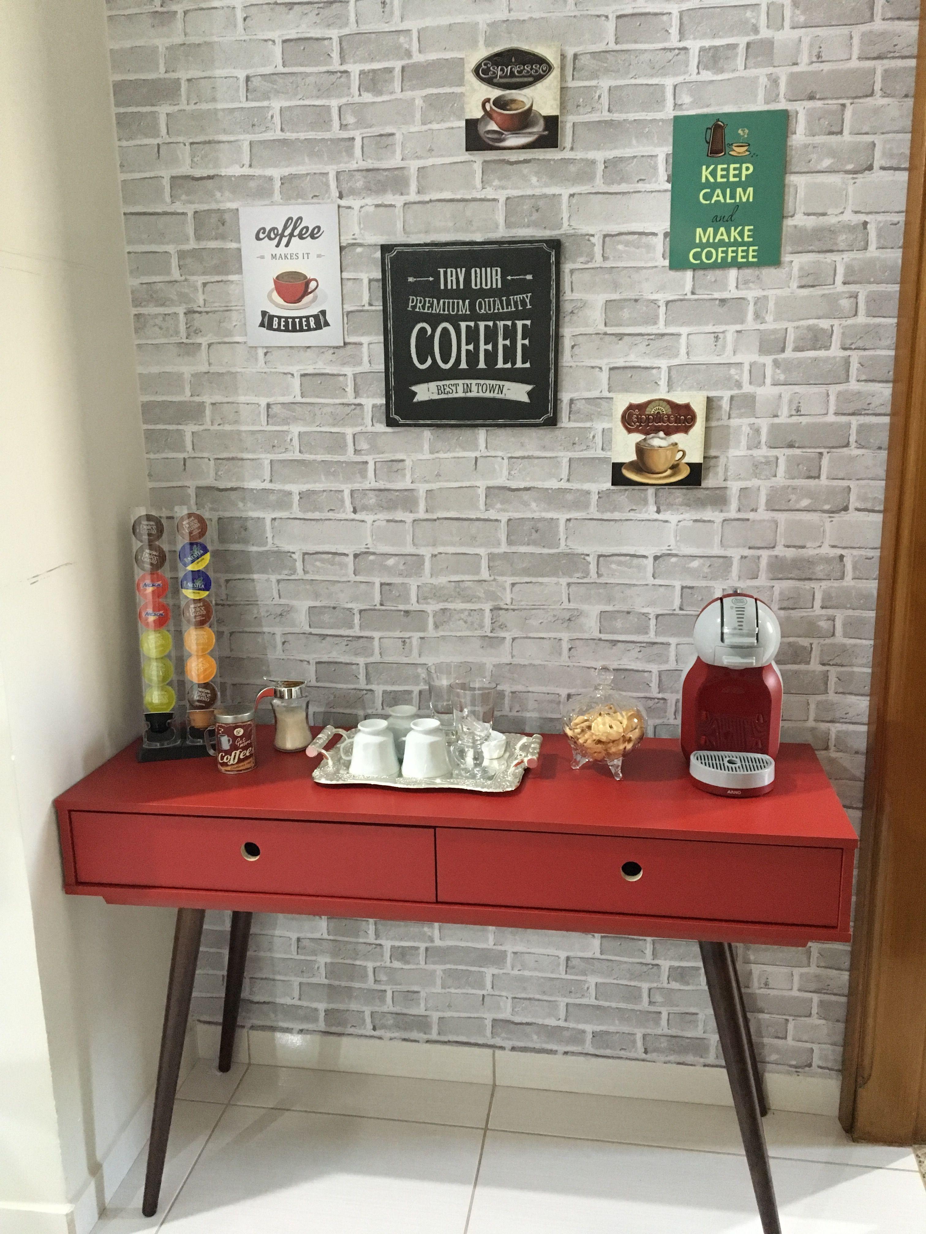 Cantinho do café! ☕ | Cozinha | Pinterest | Küche, Häuschen und Deko
