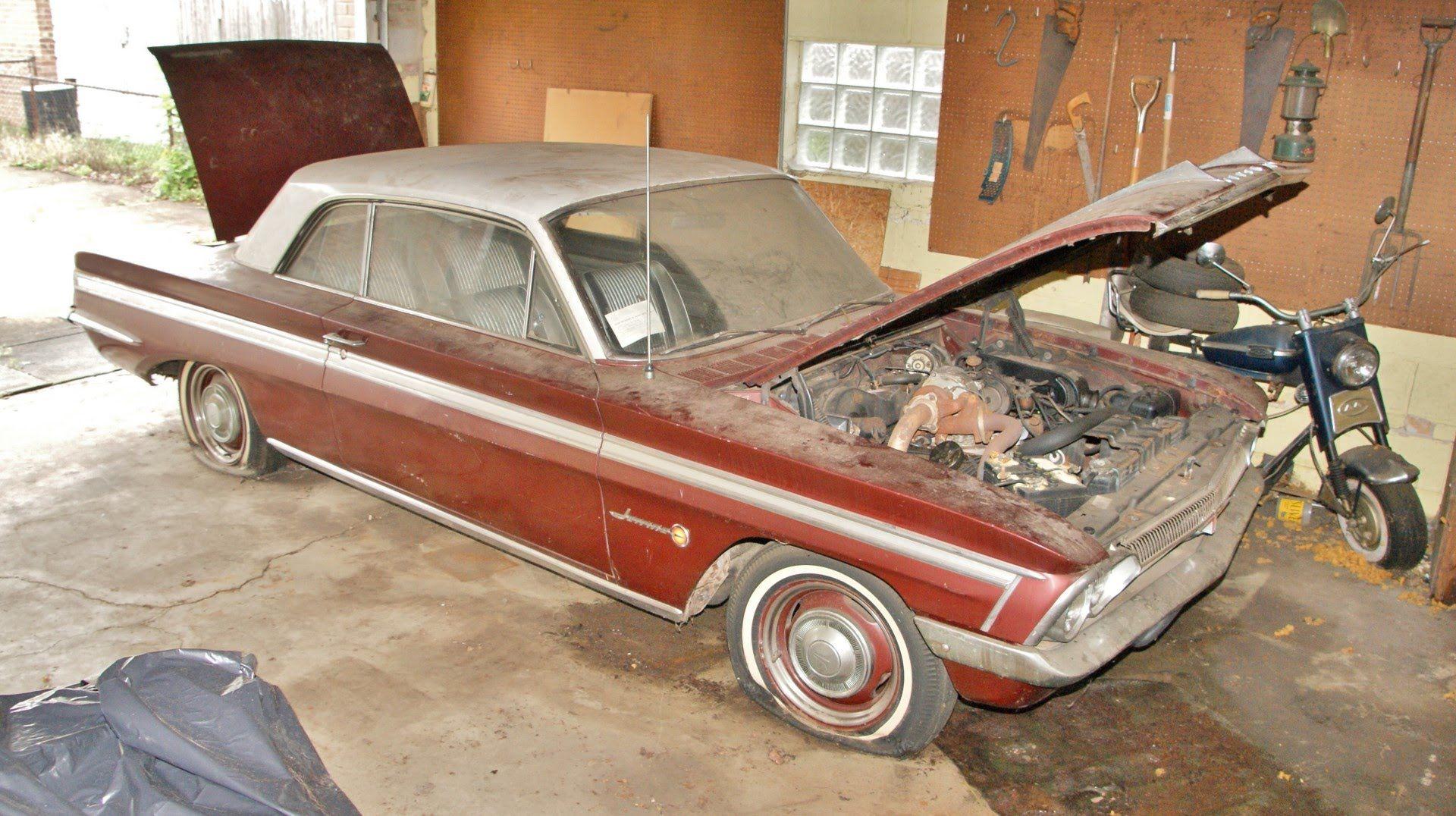 The Garage Find 1962 Oldsmobile Jetfire V8 Factory Turbo The