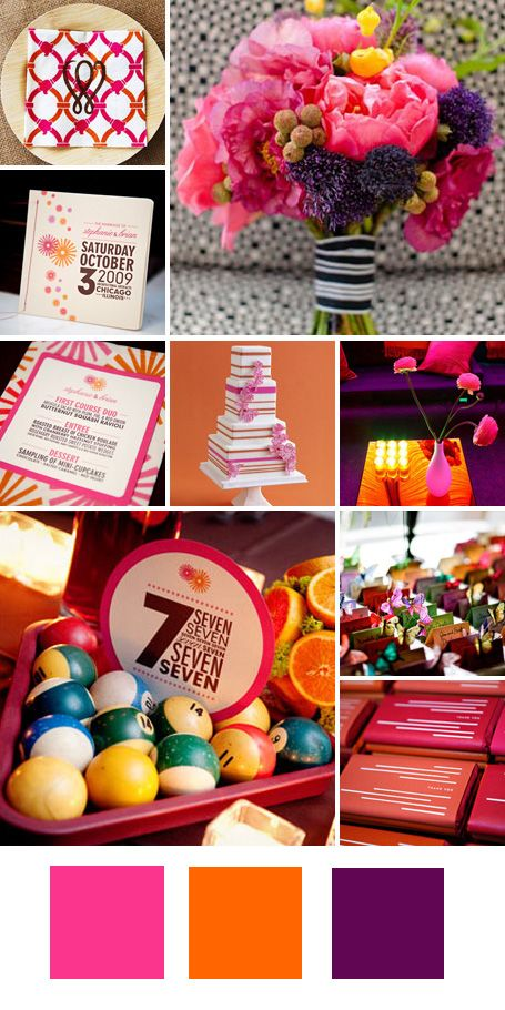 The Knot - Your Personal Wedding Planner | Purple wedding colors ...