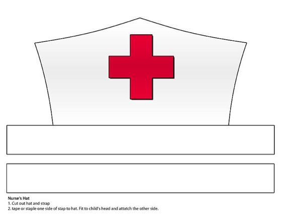 Image result for doctor hat paper craft template for Consumer crafts discount code