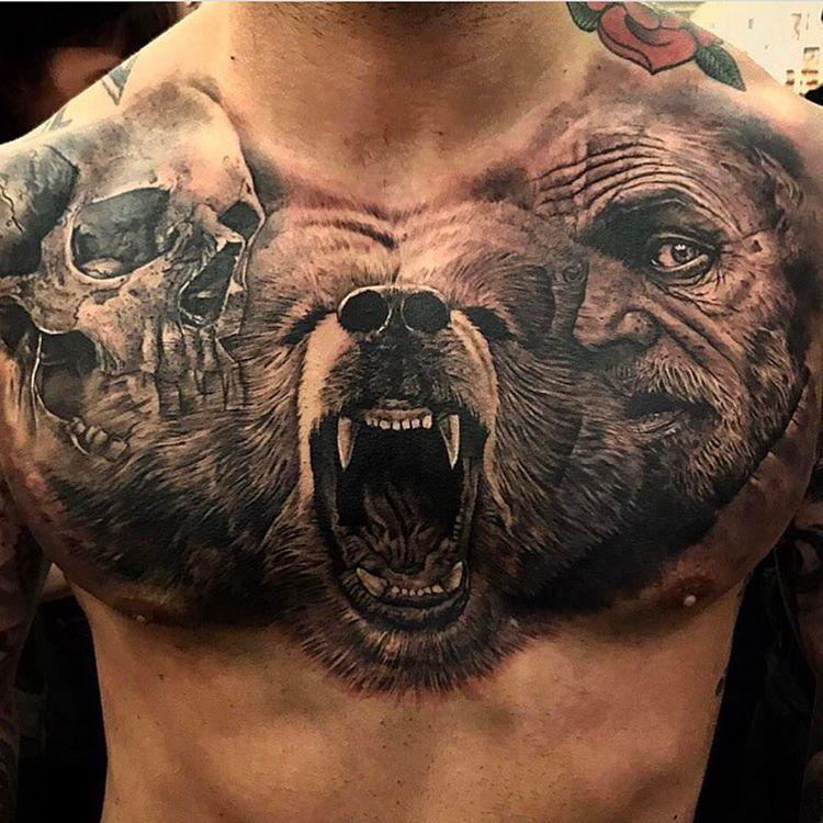 "Gefällt 10.5 Tsd. Mal, 47 Kommentare - Inked Magazine (@inkedmag) auf Instagram: ""Awesome piece from @sergiofernandeztattoo #freshlyinked #tattoo #tattooed #inked #inkedmag"""