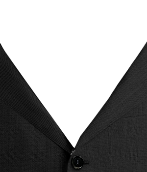 black suit - put it all together at the tie bar