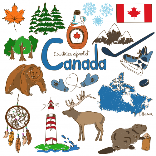 Cultural Map Canada Canada Culture Map Printable   KidsPressMagazine.| Geography