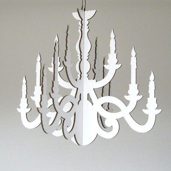 Pin by elizabeth rivas on cratfs pinterest explore cardboard chandelier paper chandelier and more aloadofball Images