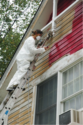 Exterior painting learn how to prepare the exterior of - How to prep a house for painting exterior ...
