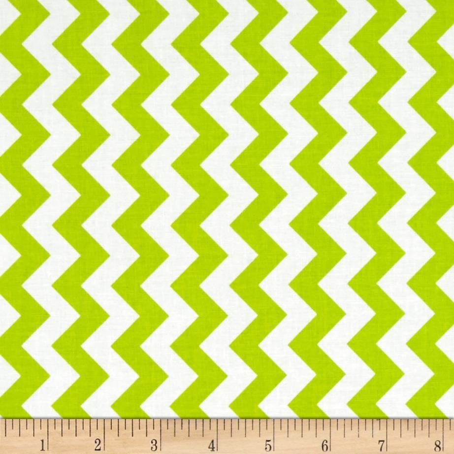 Riley Blake Small Chevron Lime from @fabricdotcom From the RBD ...