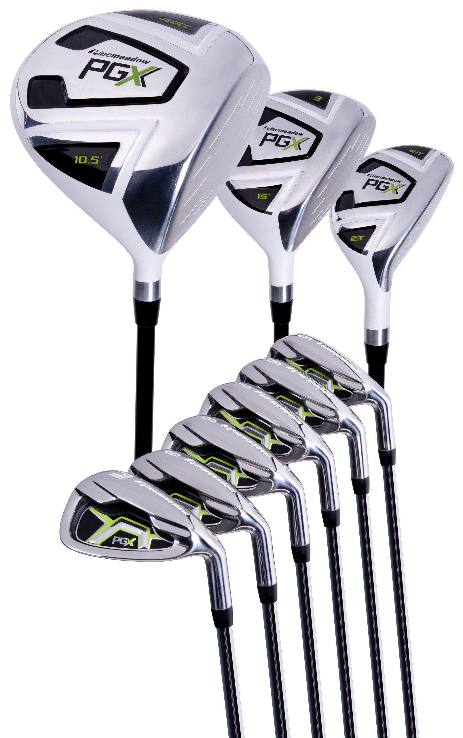 Golf Club Sets Pinemeadow Mens PGX Golf SetDriver 3 Wood