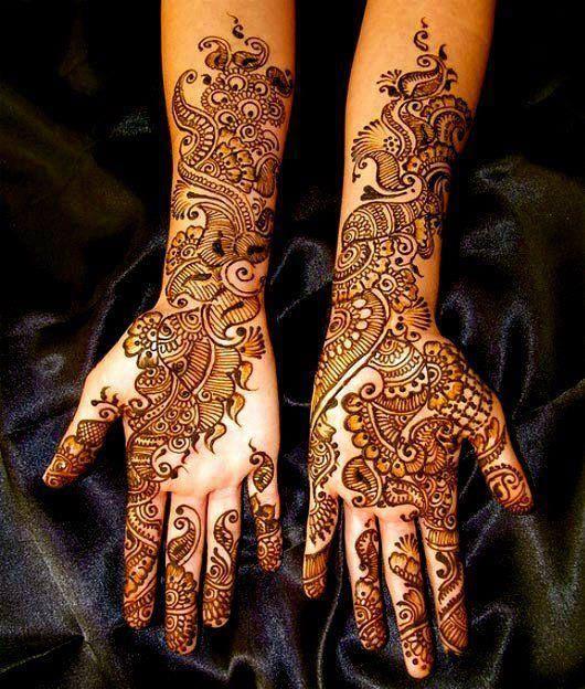mehndi design for dulhan sister