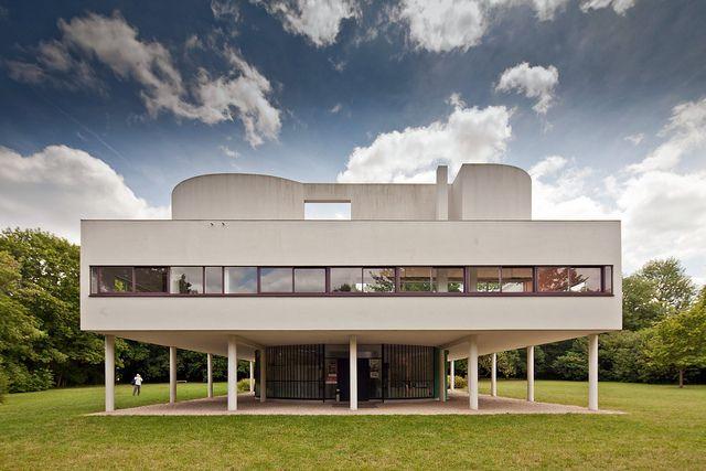 Villa Savoye Architecture Bauhaus Villa Savoye Architecture